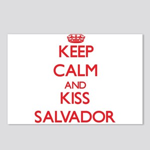 Keep Calm and Kiss Salvador Postcards (Package of