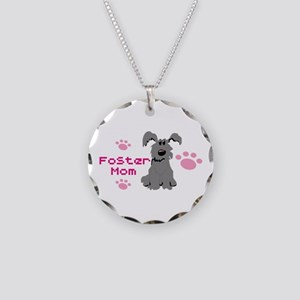 Foster Mom 111 Necklace Circle Charm
