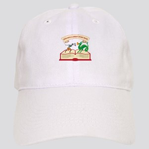 Dive Into A Great Story Book Baseball Cap