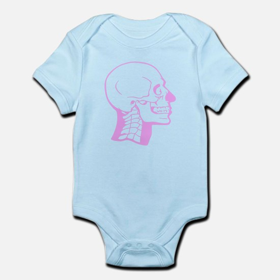 Pink X-Ray Skull Body Suit