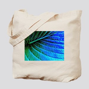 Abstracted Leaf Tote Bag