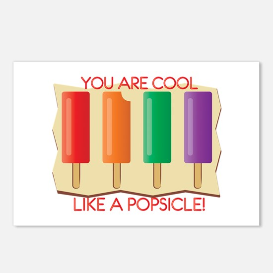 You Are Cool Like A Popsicle! Postcards (Package o