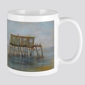 Pelican House in Cedar Key Mugs