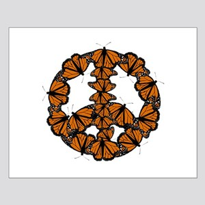 Black and Orange Butterfly Peace Posters