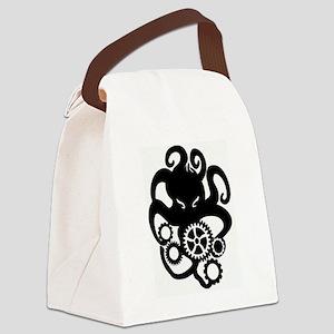 cthulhu gears Canvas Lunch Bag