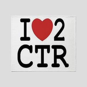 CTR Throw Blanket