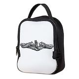 Pin badges Neoprene Lunch Bag