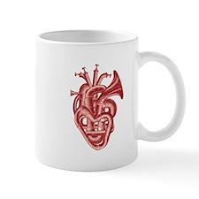 Heart music Mugs