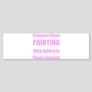 Painting Bumper Sticker