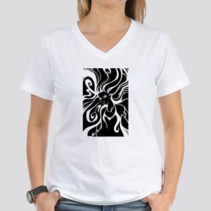 Wild and wind swept swirling hair T-Shirt