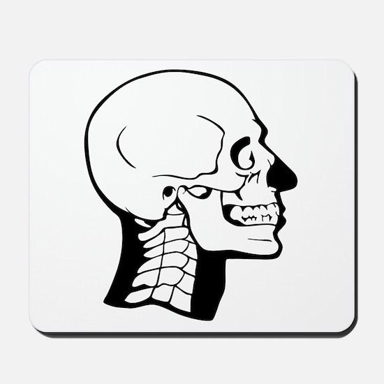 X-Ray Skull Mousepad