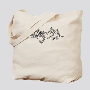 Broken Skeleton Tote Bag