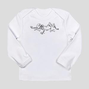 Broken Skeleton Long Sleeve T-Shirt
