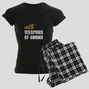 Chess Weapons Pajamas