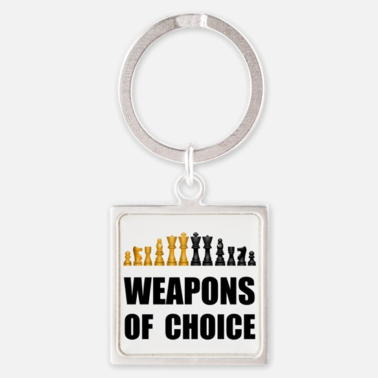 Chess Weapons Keychains