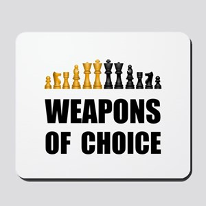 Chess Weapons Mousepad
