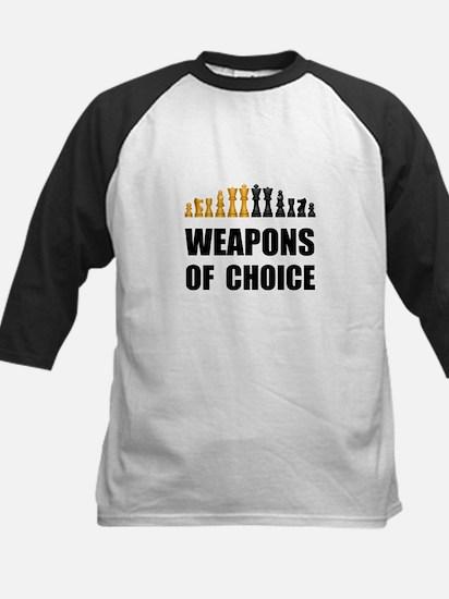 Chess Weapons Baseball Jersey