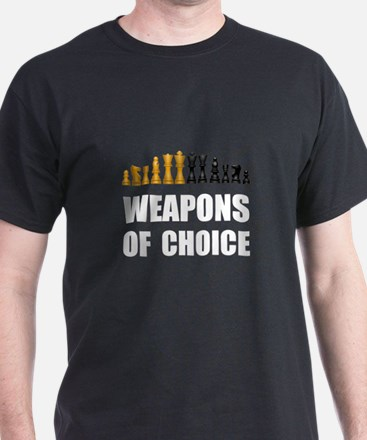 Chess Weapons T-Shirt