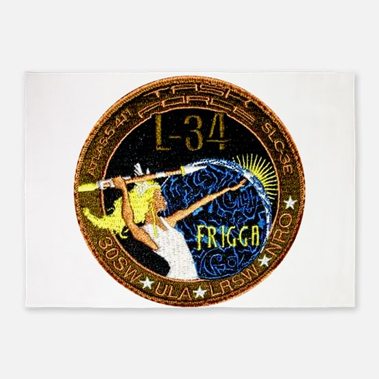 NROL 34 Launch Team 5'x7'Area Rug