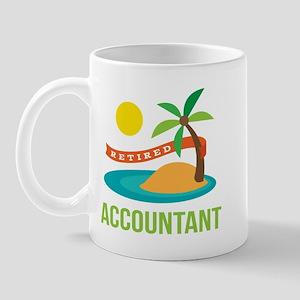 Retired Accountant Mug
