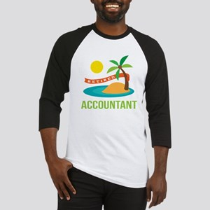 Retired Accountant Baseball Jersey