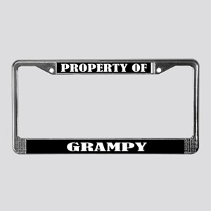 Property Of License Plate Frame
