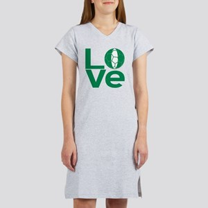 Nigerian LOVE Soccer Women's Nightshirt
