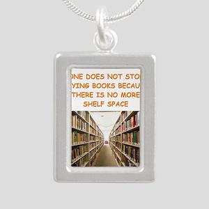 BOOKSCIA2 Necklaces