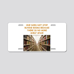 BOOKSCIA2 Aluminum License Plate
