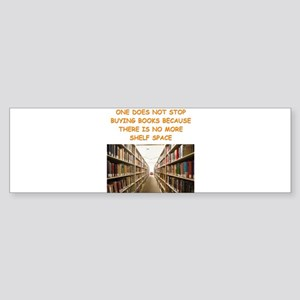 BOOKSCIA2 Bumper Sticker