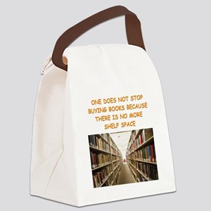 BOOKSCIA2 Canvas Lunch Bag