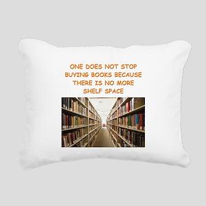 BOOKSCIA2 Rectangular Canvas Pillow