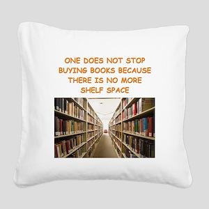 BOOKSCIA2 Square Canvas Pillow