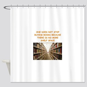 BOOKSCIA2 Shower Curtain