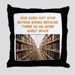 BOOKSCIA2 Throw Pillow