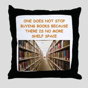 BOOKSCIA2 Throw Pillow