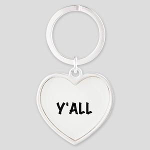 Y'All Heart Keychain