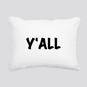 Y'All Rectangular Canvas Pillow