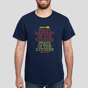 What Happens in the Kitchen Dark T-Shirt