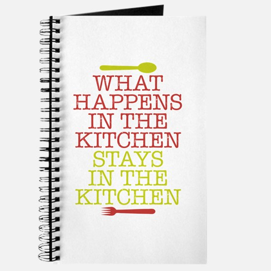 What Happens in the Kitchen Journal