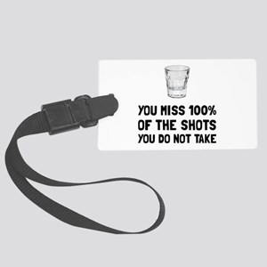 Miss The Shots Luggage Tag