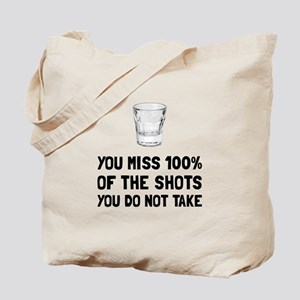 Miss The Shots Tote Bag
