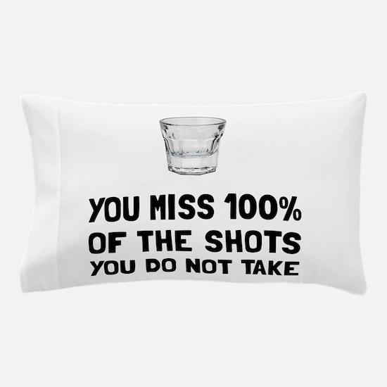 Miss The Shots Pillow Case