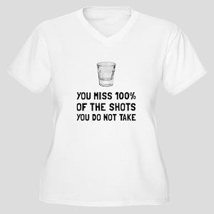 Miss The Shots Plus Size T-Shirt