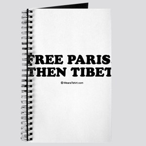 Free Paris, Then Tibet Journal