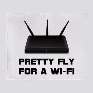 Pretty Fly WiFi Throw Blanket