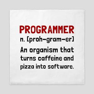 Programmer Definition Queen Duvet