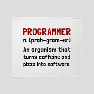 Programmer Definition Throw Blanket