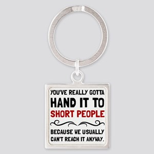 Short People Keychains
