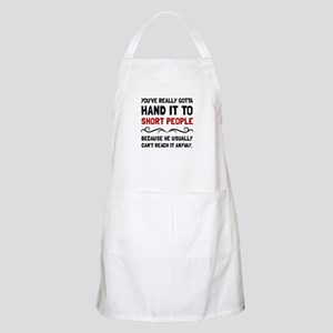Short People Apron
